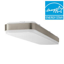 hampton bay ft x brushed nickel led linear ceiling picture with outstanding linear recessed lighting fixtures