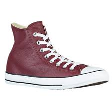 converse all star leather. converse all star leather hi - men\u0027s basketball shoes deep bordeaux/black/white
