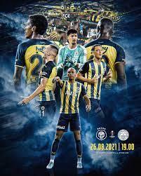 """Fenerbahçe SK on Twitter: """"🏆 UEL Play-off 🆚 HJK Helsinki 🗓 26 Ağustos  Perşembe 🕖 19.00 📲 #HJKvFB 📺 TV8… """""""