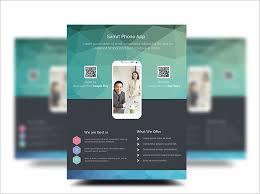 Mobile App Promotion Flyer Templates Free Graficasxerga Com
