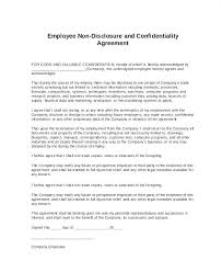 Confidentiality Agreement Free Template Fascinating Confidentiality Template Free