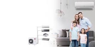 Home Ac Design Multi Head Split System Lg Multi Room Split System Air