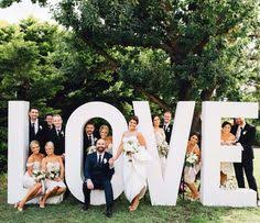 spread the love with chic wedding signage woods and fairy the love sign the love sign big giant love letters