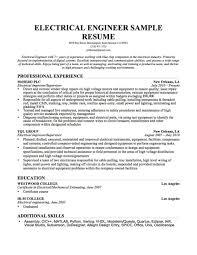 Mechanical Engineer Job Resume Sample Profile Examplen Template