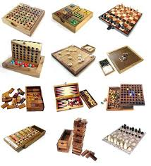 Handmade Wooden Board Games