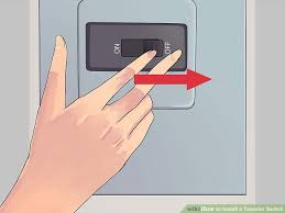 how to install a transfer switch pictures wikihow image titled install a transfer switch step 5