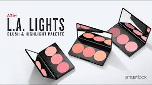 Get Radiant Flushed Cheeks L A Lights Blush Highlight Palette