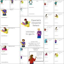 Expected & Unexpected Behavior Worksheets - Speech Room News
