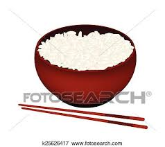 bowl of rice clip art. Interesting Rice Clip Art  A Bowl Of White Rice On Background Fotosearch Search  Clipart Throughout Of B