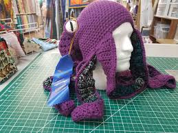 Crochet Octopus Hat Pattern Simple My Octopus Hat Won A Blue Ribbon At My Country Fair Can't Wait For
