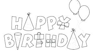 Free Birthday Coloring Pages Precious Coloring Pages Happy Birthday
