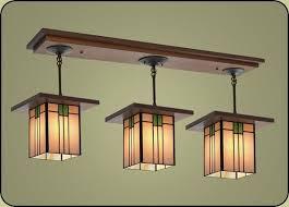 craftsman style light fixture 507