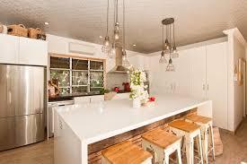 breakfast bar lighting ideas. Breakfast Bar Lighting Ideas Kitchen Eclectic With Timber Island Jalousie Windows Pendant Lights