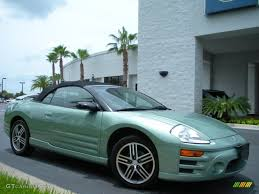 Alloy Green Pearl 2003 Mitsubishi Eclipse Spyder GTS Exterior ...