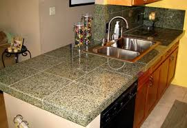 how to install tile countertops kitchen with countertops