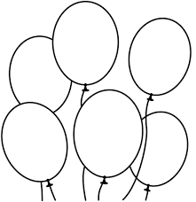 Small Picture Balloon Coloring Pages And Page glumme