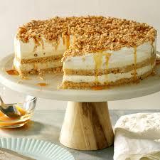 Nutty Caramel Ice Cream Cake Recipe Taste Of Home