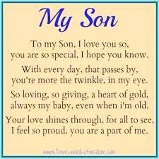 Father Son Quotes Interesting To My Son Quotes With Quotes To My Son Love To My Son I Love You