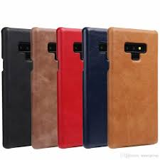 for samsung note 9 case noble genuine leather back impact holster protective cover case for samsung galaxy note 9 whole cell phone cases designer cell