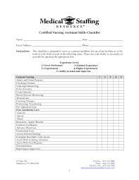 Sample Resume Certified Nursing Assistant cna resume objective itemroshoptk 51