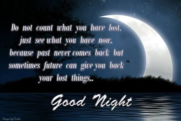 sad good night quotes
