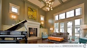 how to decorate an interior with high ceilings home design lover