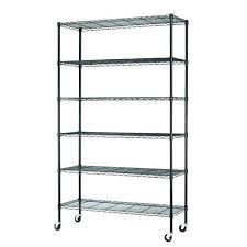 black wire shelving unit adjule 5 tier room essentials 3 essentialstm