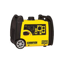Champion Power Equipment 3 100 Watt Gasoline Powered Recoil Start