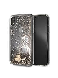 Чехол для iPhone XR Glitter Hard Gold GUESS 6603543 в ...