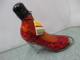 Decorative Pepper Bottles Infused Vinegar Chili Peppers Bottle Decorative Kitchen Glass Jar 11