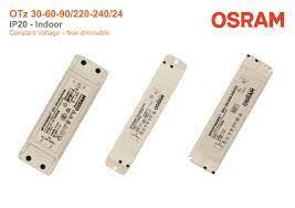 Bộ chuyển nguồn CV POWER SUPPLIES 24V OSRAM IP20 – Sử dụng cho đèn LED dây  điện áp 24V