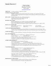 Sample Fire Resume Firefighter Resume Examples Beautiful Emt Resume Sample Simple 22