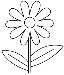 Coloring Pages Of Flowers For Preschool Coloring Pages Pages Flowers