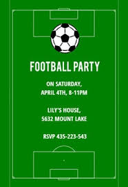 Soccer Party Invitations Soccer Night Free Sports Games Invitation Template Greetings