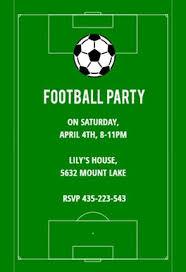 Football Party Invitations Templates Free Sports Games Invitation Templates Free Greetings Island