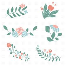set of cute fl bouquets and wreaths vector image vector artwork of plants and s to zoom