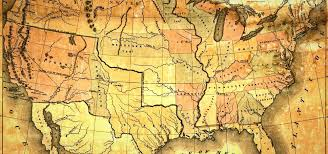 old map of the usa