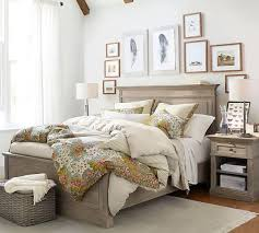 Livingston Bed | Wooden Beds | Pottery Barn