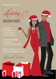 couples christmas party invitations african american couples christmas party invitations african american