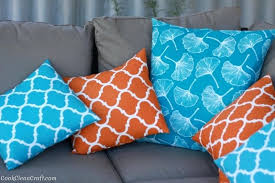 waterproof patio cushion sew a quick and easy cushion cover cook clean craft waterproof outdoor cushions