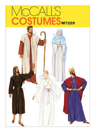 Mccalls Costume Patterns Amazing M48 Men'sMisses' Nativity Scene Costumes Sewing Pattern