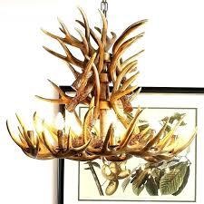 wondeful deer antler chandelier canada z0248805