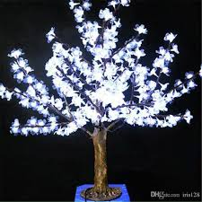1m height outdoor artificial tree led cherry blossom tree light leds straight tree trunk led light unusual decorations victorian