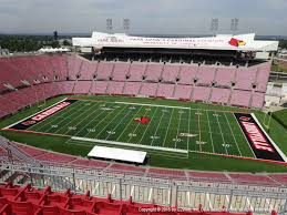 Papa John S Cardinal Stadium Seating Chart Taylor Swift Cardinal Stadium View From Section E5 Vivid Seats