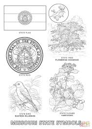 Small Picture Missouri State Symbols coloring page Free Printable Coloring Pages