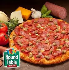 enjoy your favorite round table pizza