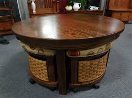 round coffee table with stools fantasy and storage google search decor 6 hostalmyhome com round coffee table with four stools round coffee table with