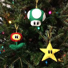 Super Mario Christmas Tree Ornament Hitting Hallmark On July 15th Super Mario Christmas Tree