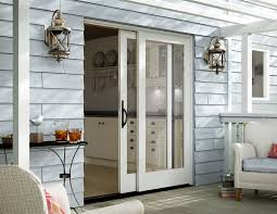 Pocket French Doors Exterior - Stendahl Exteriors