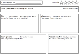 book review writing frame holy trinity c of e vc primary school book review writing frame